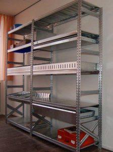 Metalsistem stalen stellingen Super 123 serie